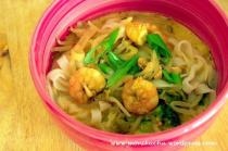 Tajska zupa z krewetkami i kokosem