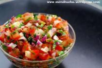 salsa ze świeżych pomidorów