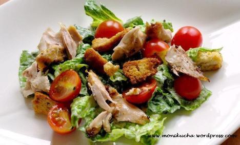 salatka cezara