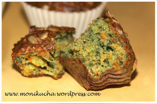 babeczki szpinakowo-marchewkowe (2)